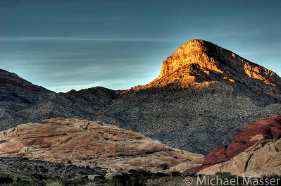 Red-Rock-Canyon-Nevada-at-Sunset-HDR-3
