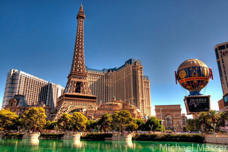 Paris-and-Planet-Hollywood-from-Bellagio-Las-Vegas-HDR