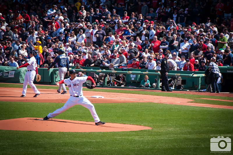 Josh-Beckett-Boston-Red-Sox-Home-Opener-2012-At-Fenway-Park-vs-Tampa-Bay-Rays-17
