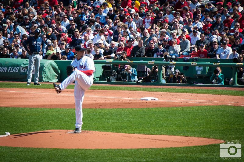 Josh-Beckett-Boston-Red-Sox-Home-Opener-2012-At-Fenway-Park-vs-Tampa-Bay-Rays-19