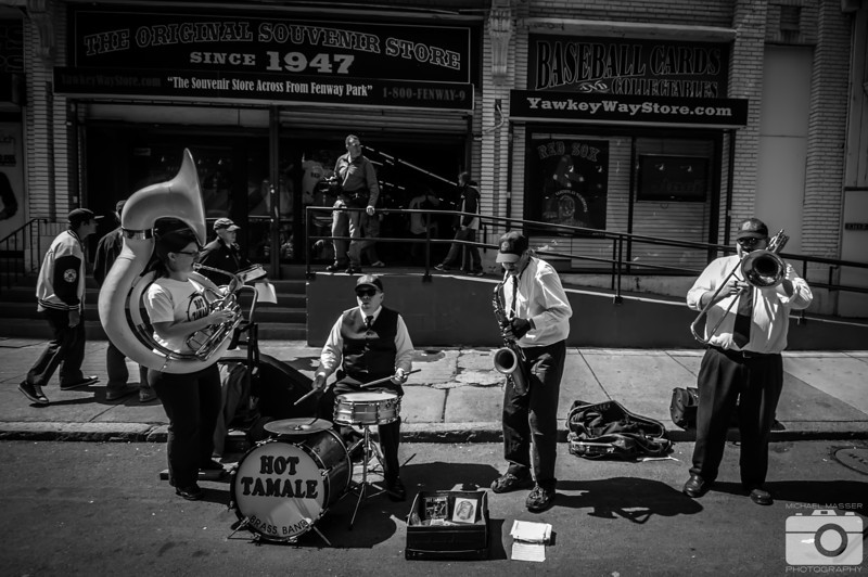 Hot-Tamele-Brass-Band-Yawkey-Way-Pregame-Boston-Red-Sox-Home-Opener-2012-At-Fenway-Park-vs-Tampa-Bay-Rays-1