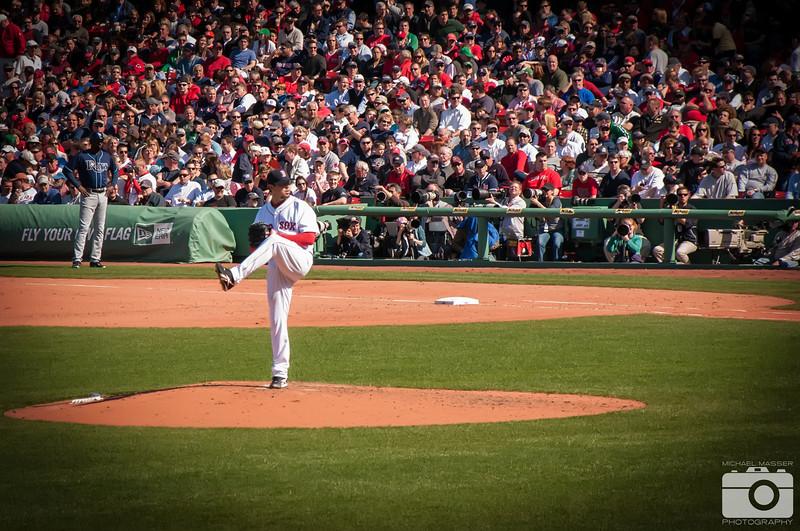 Josh-Beckett-Boston-Red-Sox-Home-Opener-2012-At-Fenway-Park-vs-Tampa-Bay-Rays-33