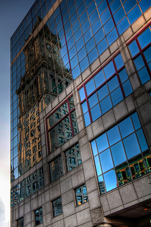 Boston-Custom-House-Tower-Reflection-Boston-Massachusetts-HDR-4