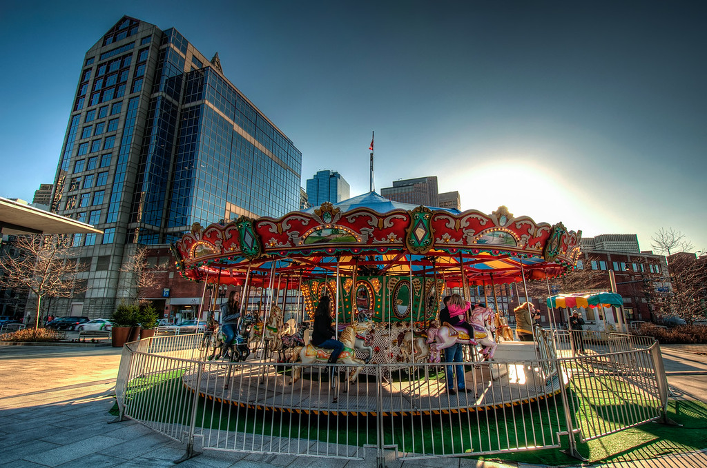 Carousel-in-the-North-End-Boston-Massachusetts-HDR