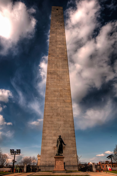 Bunker-Hill-Monument-Boston-Massachusetts-HDR-45