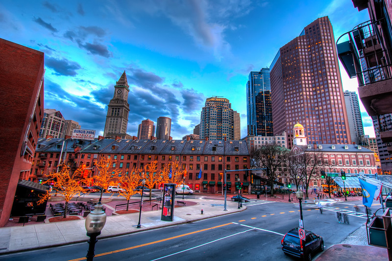 North-End-at-Dusk-Boston-Massachusetts-HDR-51
