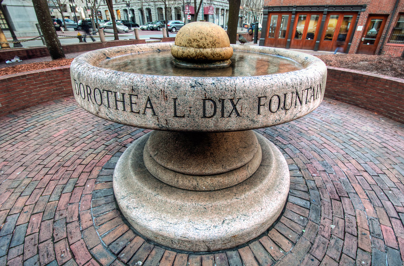 Dorothea-L-Dix-Fountain-Boston-Massachusetts-HDR