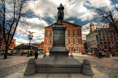 Samuel-Adams-Monument-and-Fanneuil-Hall-Boston-Massachusetts-HDR-34