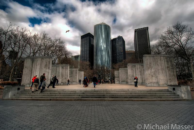 East-Coast-Memorial-Battery-Park-HDR