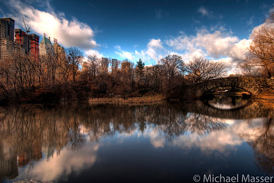 Central-Park-Pond-and-Bridge-Reflections-HDR