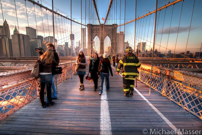 FDNY-on-Brooklyn-Bridge-HDR