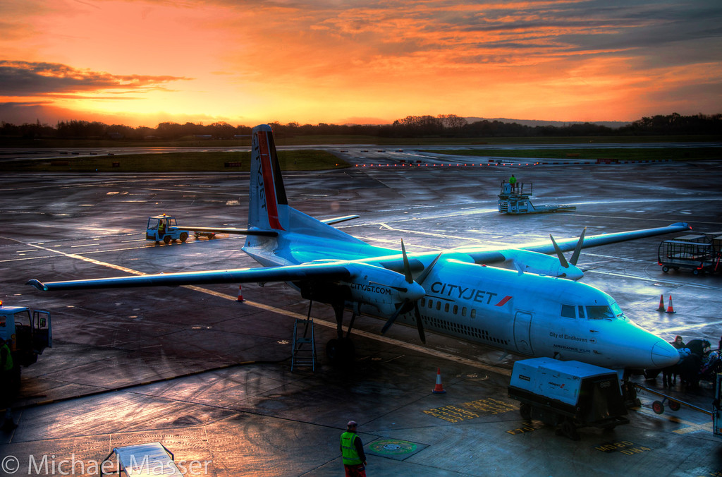 Sunrise-at-Manchester-Airport-HDR