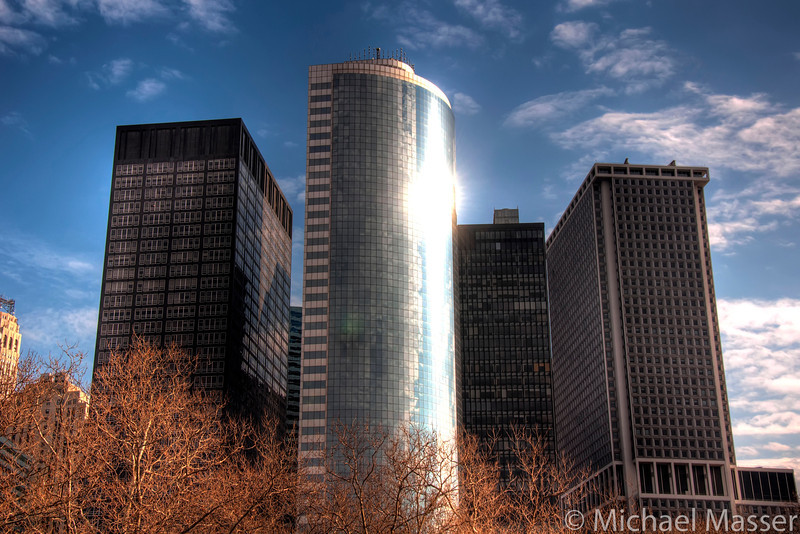 South-Manhattan-Architecture-From-Ferry-HDR