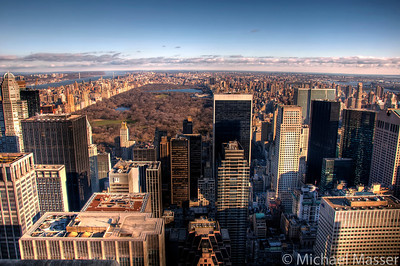 North Manhattan-and-Central-Park-from-Top-of-The-Rock-HDR-3
