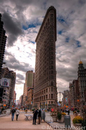 Flat-Iron-Building-and-iPad-Advert-HDR