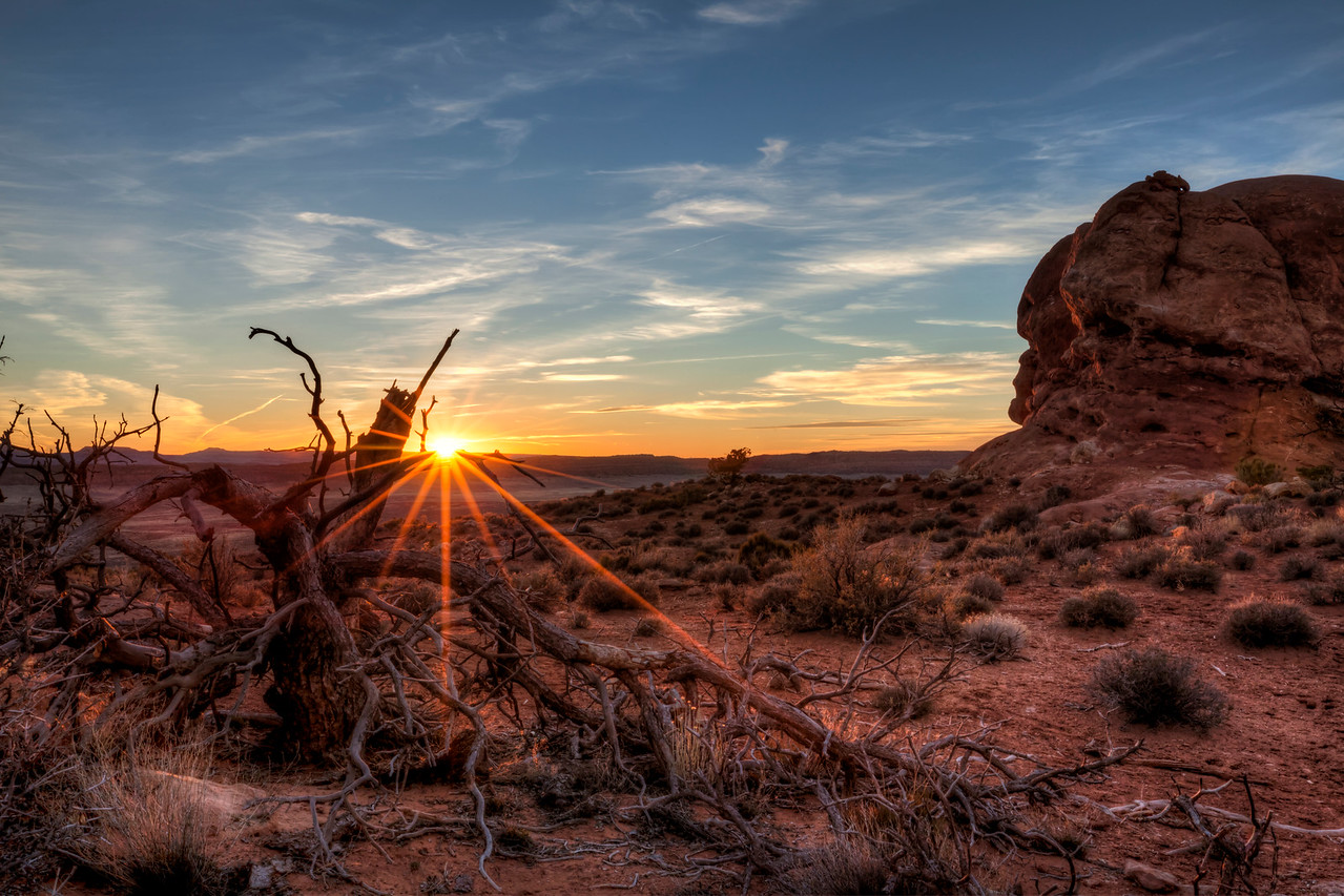 Sunset - Arches National Park
