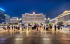 Three grand hotels in Las Vegas