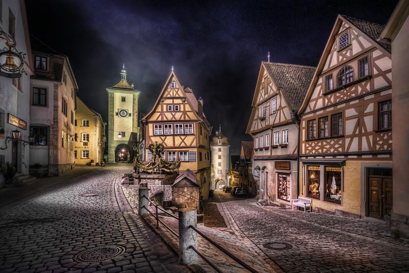 Rothenburg split road