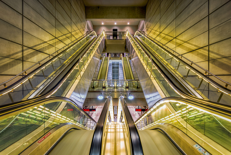 Escalators en Masse