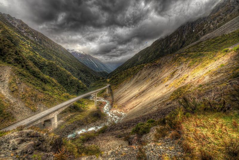 Otiras Gorge in New Zealand