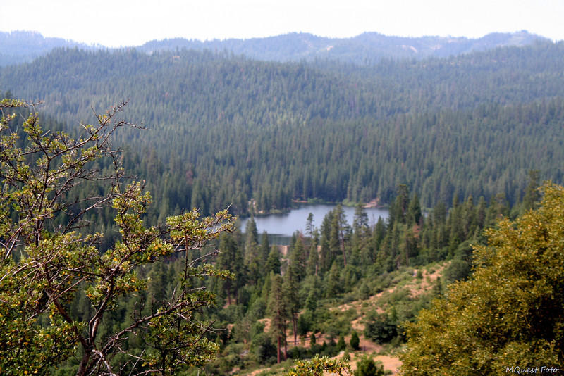 Hume Lake from Above - Sequoia -