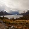 Høstfargene må snart vike for vinterfargene. Utsikt utover Ersfjorden, Kvaløya.