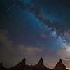 The Milky Way in Trona