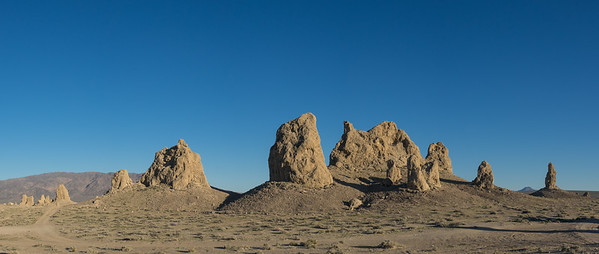Massive Rock Pinnacles
