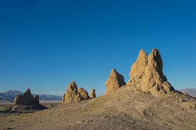 Trona Pinnacles in the Mojave Desert