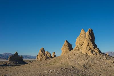Brown Desert Rock Formations