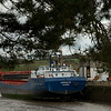 boat moored at truro in cornwall