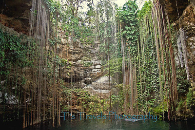 Cenote in Mexico