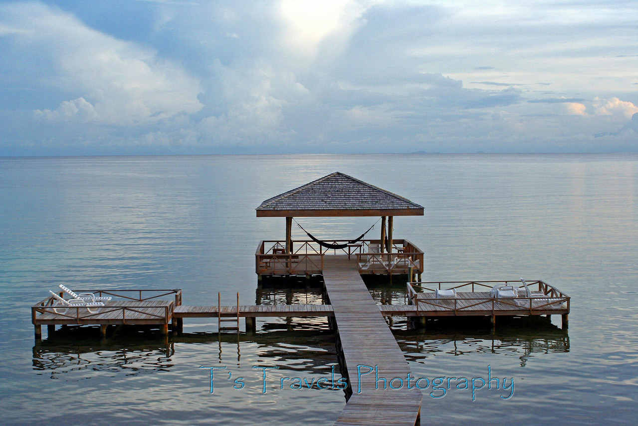 The Pier at Coco View, Roatan, Honduras