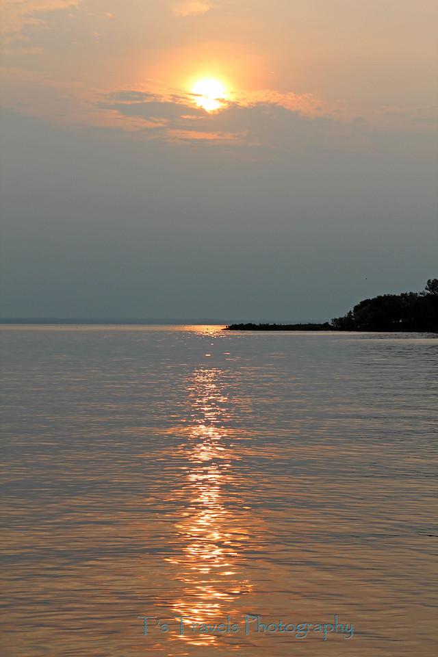 High sunset, Banks O'Dee, MD