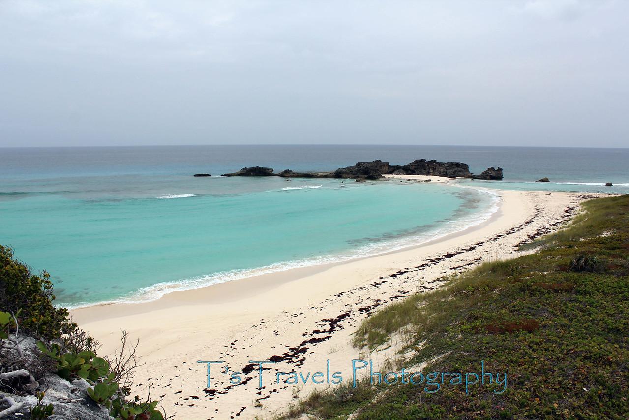 Mudjin Harbor at Middle Caicos, Turks & Caicos Islands