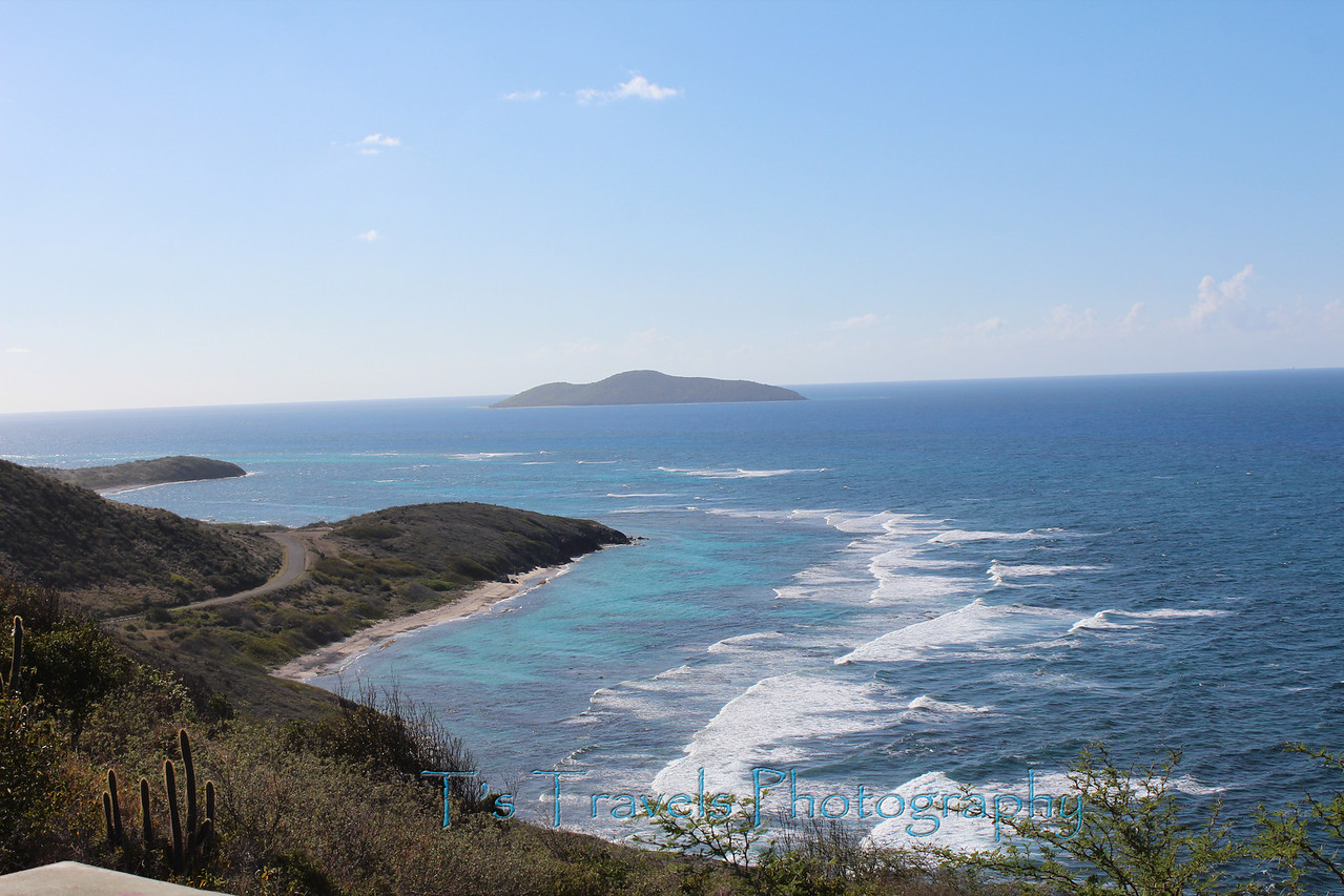 Eastern most point of the United States with a view of Buck Island, St. Croix '13