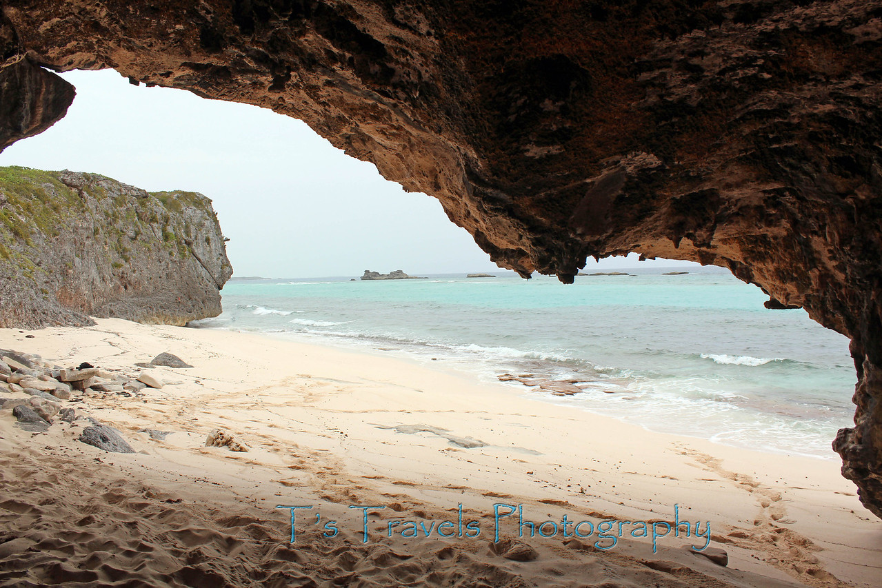 From under the cave at Mudjin Harbor, Middle Caicos, Turks & Caicos Islands