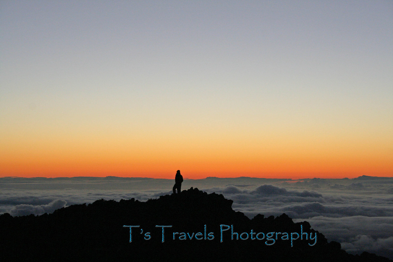Haleakala Crater sunrise, Maui, Hawaii
