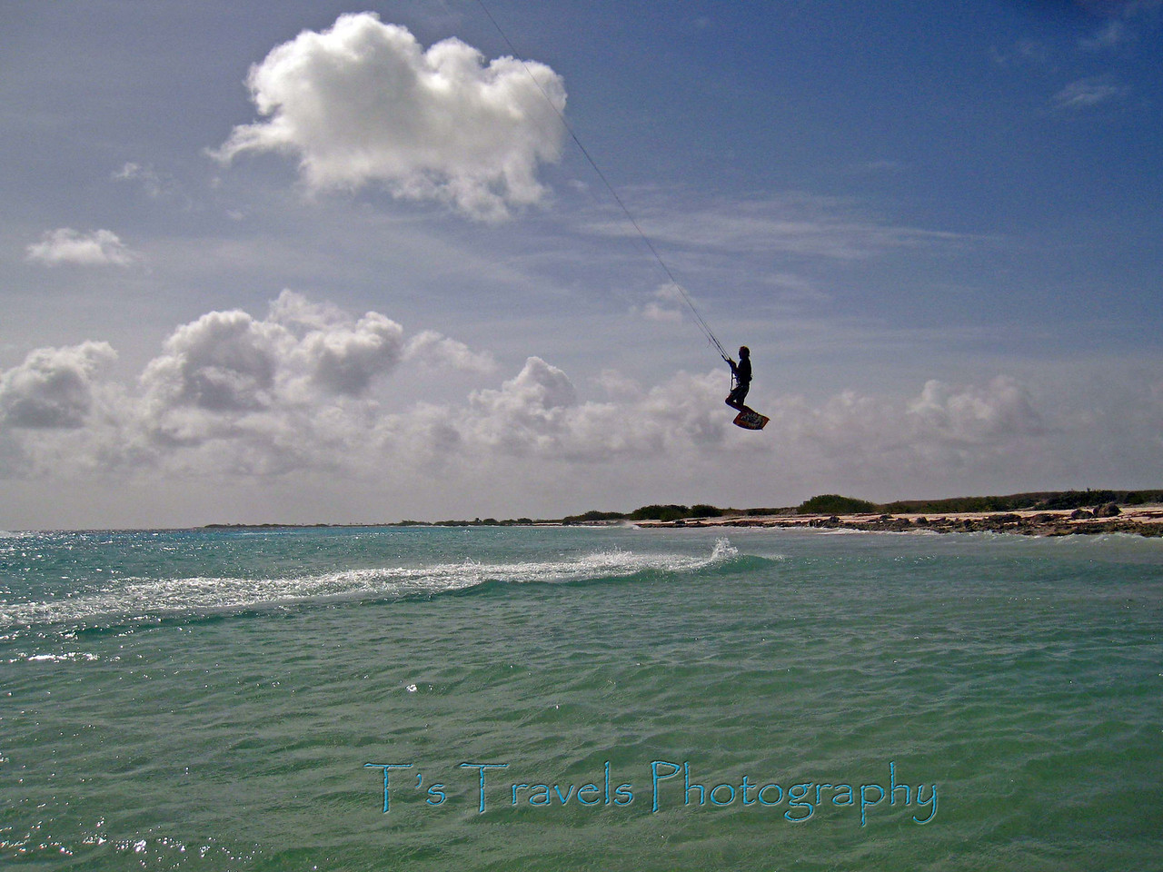 Kitesurfing on Bonaire