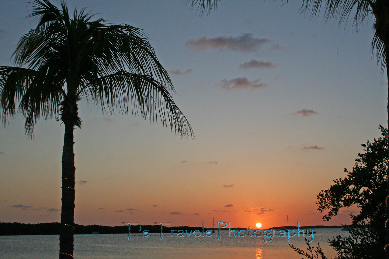 Sunset at Lorelei, Islamorada Florida