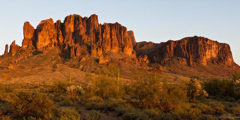 Superstition Mountains - Apache junction, Arizona