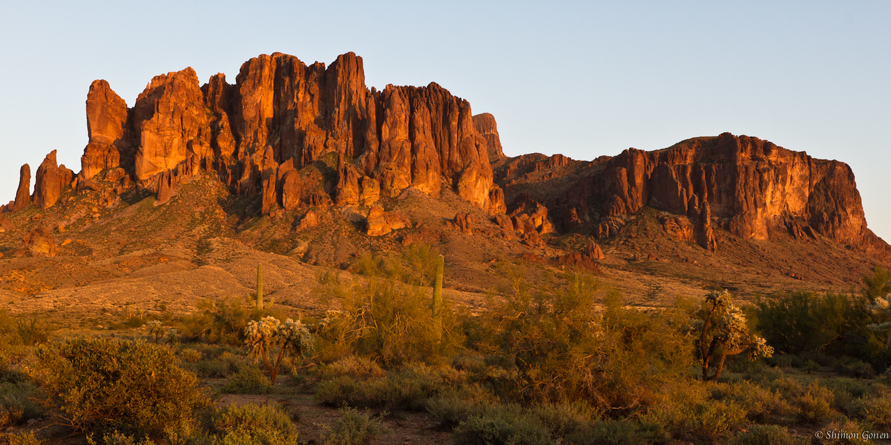 Superstition Mountains - Apache junction, Arizona