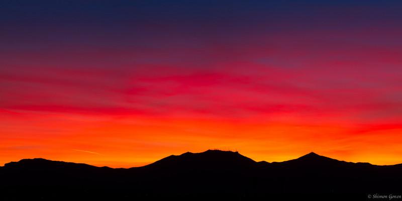 Sunset - Surprise, Arizona