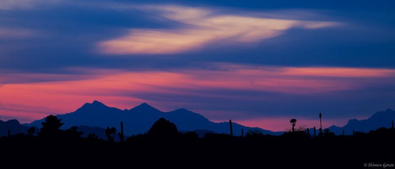 Sunset - Tucson, Arizona