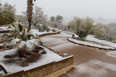 Tucson Snow 2013 -3