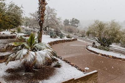 Tucson Snow 2013 -6