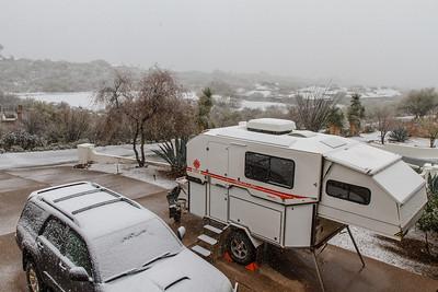 Tucson Snow 2013 -4