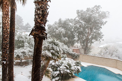 Tucson Snow 2013 -29