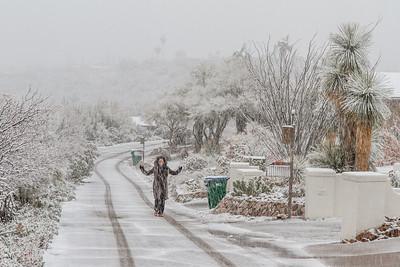 Tucson Snow 2013 -40