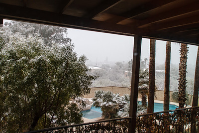 Tucson Snow 2013 -19
